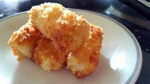 Crispy silken tofu